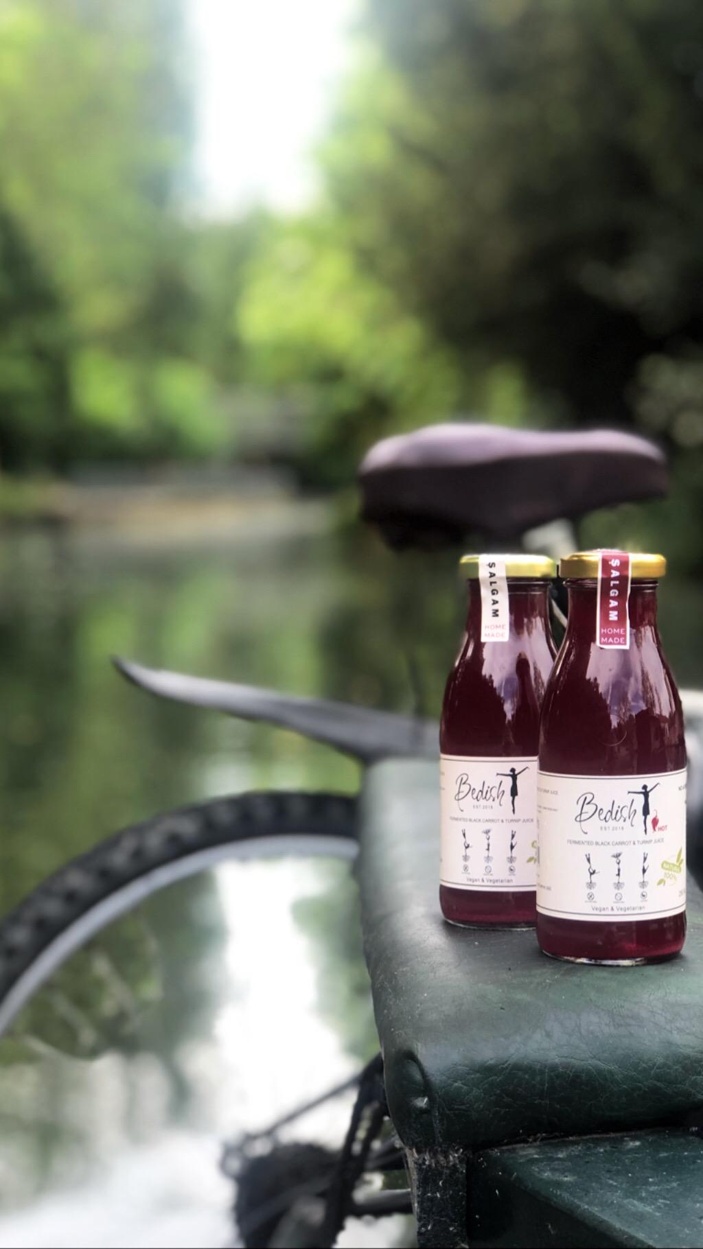 Natural Fermented Black Carrot & Turnip Juice Glass Bottle 250ML