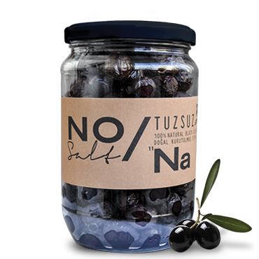 NO Salt Added Black Olives 420 gr NO/Na