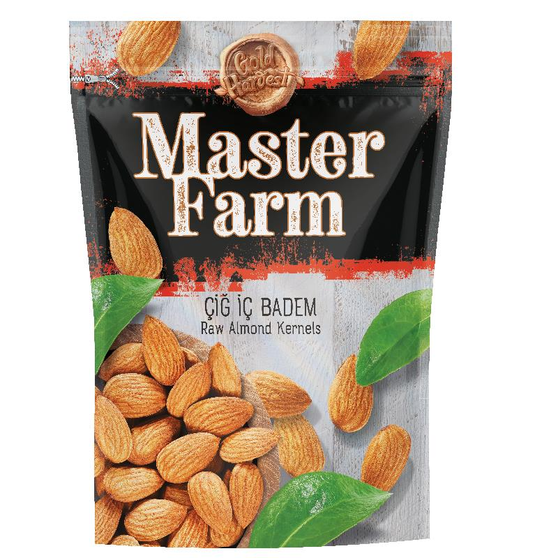 Master Farm Raw Almonds 175gr