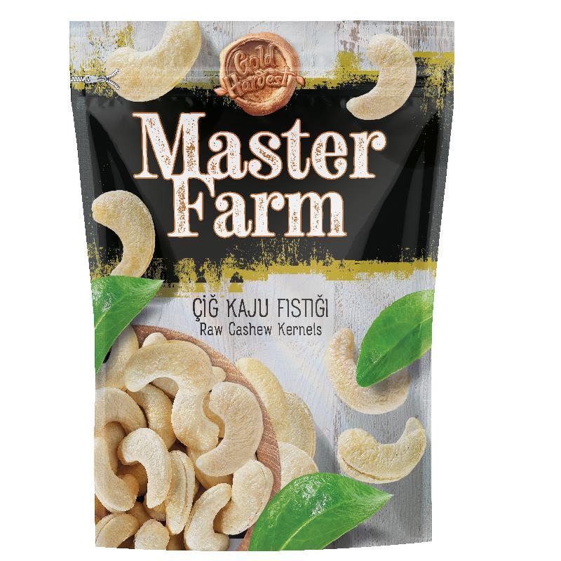 Master Farm Raw Cashew Kernels 175gr