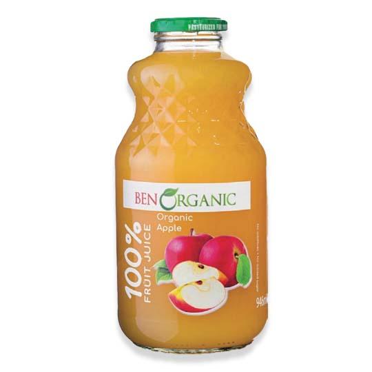 Ben Organic Apple Juice 946ml