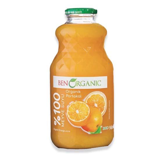 Ben Organic Orange Juice 946ml