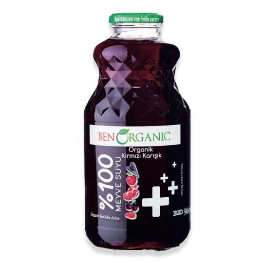 Ben Organic Red Mix Juice 946ml