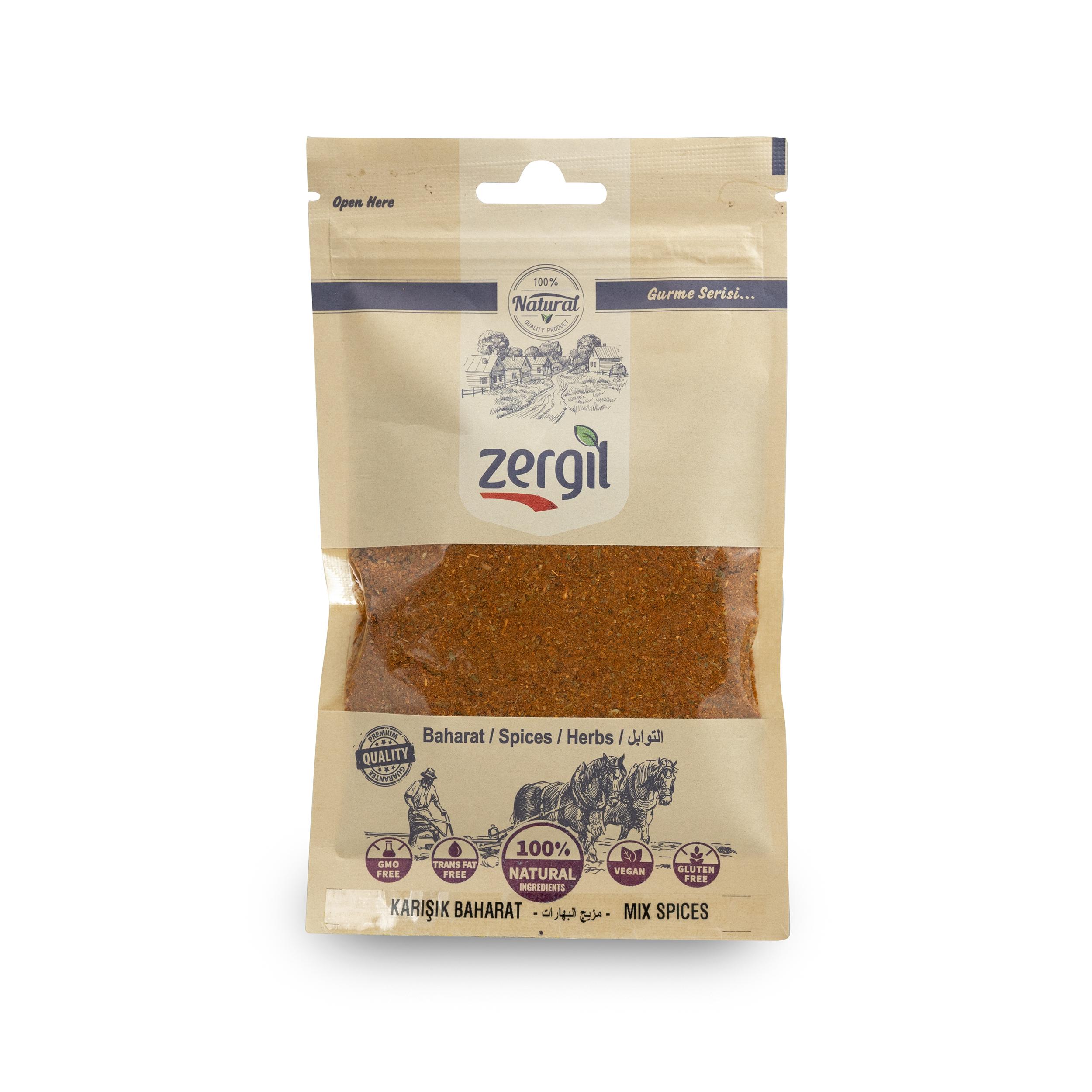 Zergil Mix Spices (Karışık Baharat) 65gr