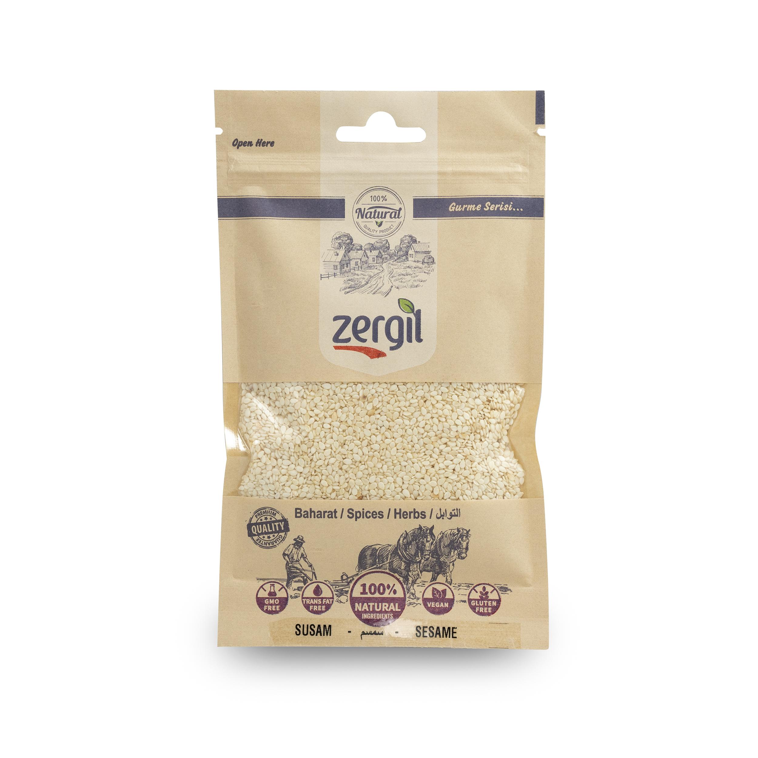 Zergil Sesame Seeds ( Susam ) 60gr