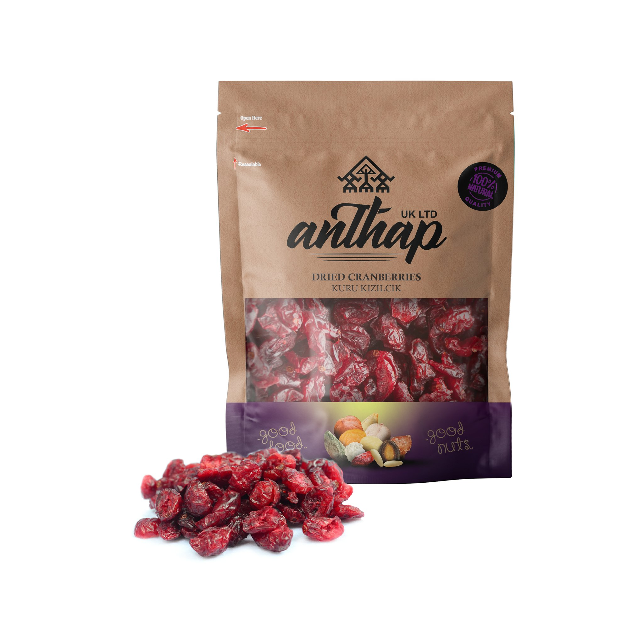 Anthap Dried Cranberries 300g