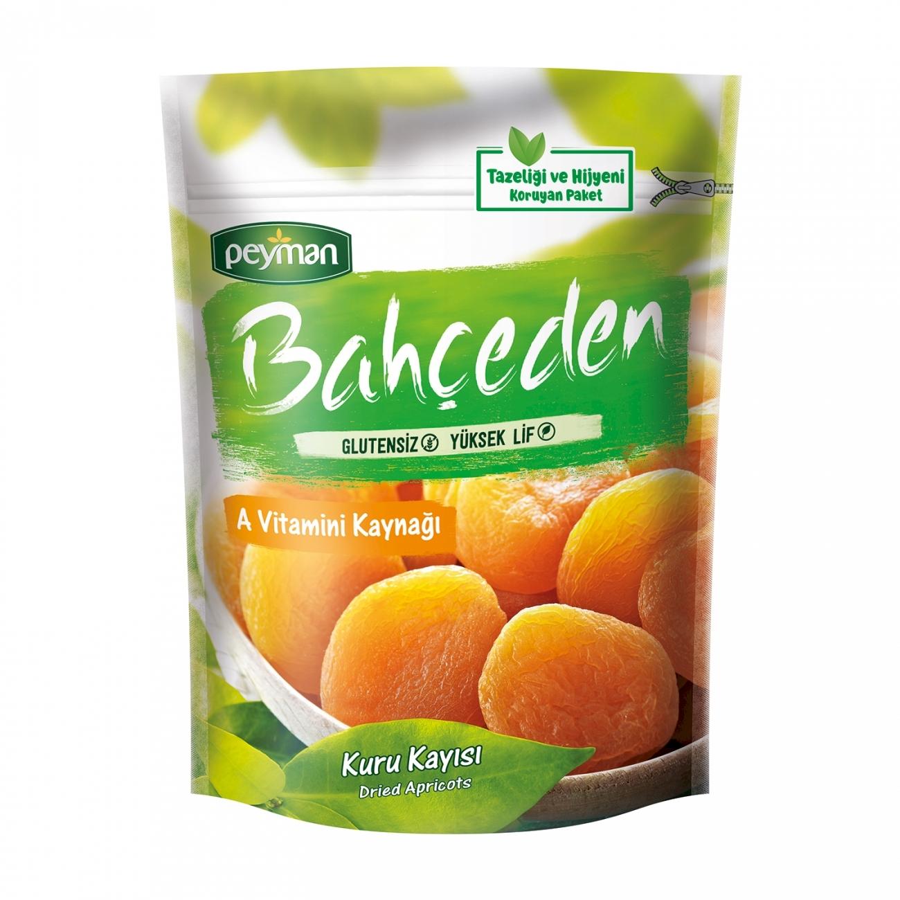Peyman Bahceden Golden Apricot Gluten Free 200 gr