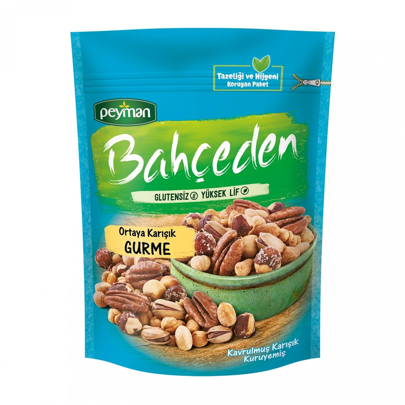 Peyman Bahceden Gourmet Roasted Mix Nuts Gluten Free 140 gr