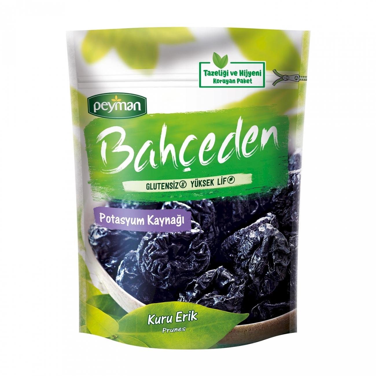 Peyman Bahceden Ready to Eat Dried Prunes Gluten Free 155 gr