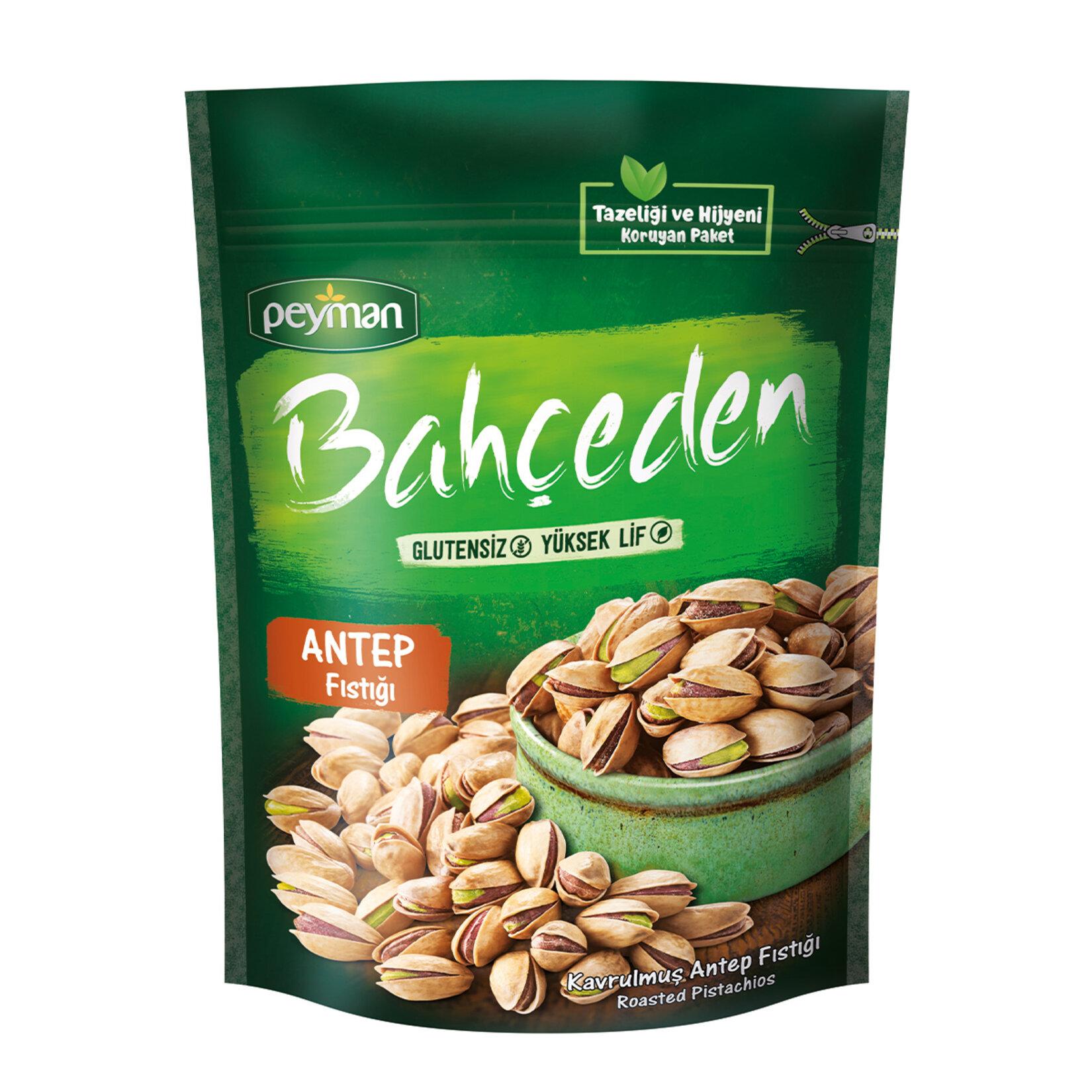 Peyman Bahceden Roasted Salted Pistachio Gluten Free 120 gr