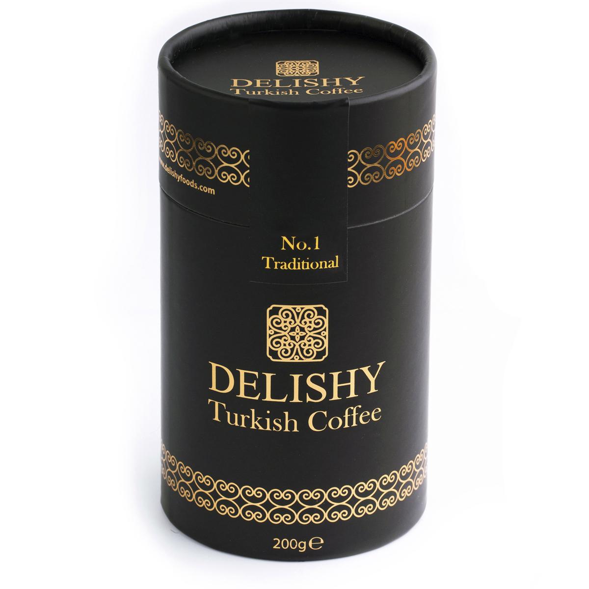 Delishy No.1 Traditional Turkish Coffee (200gr)