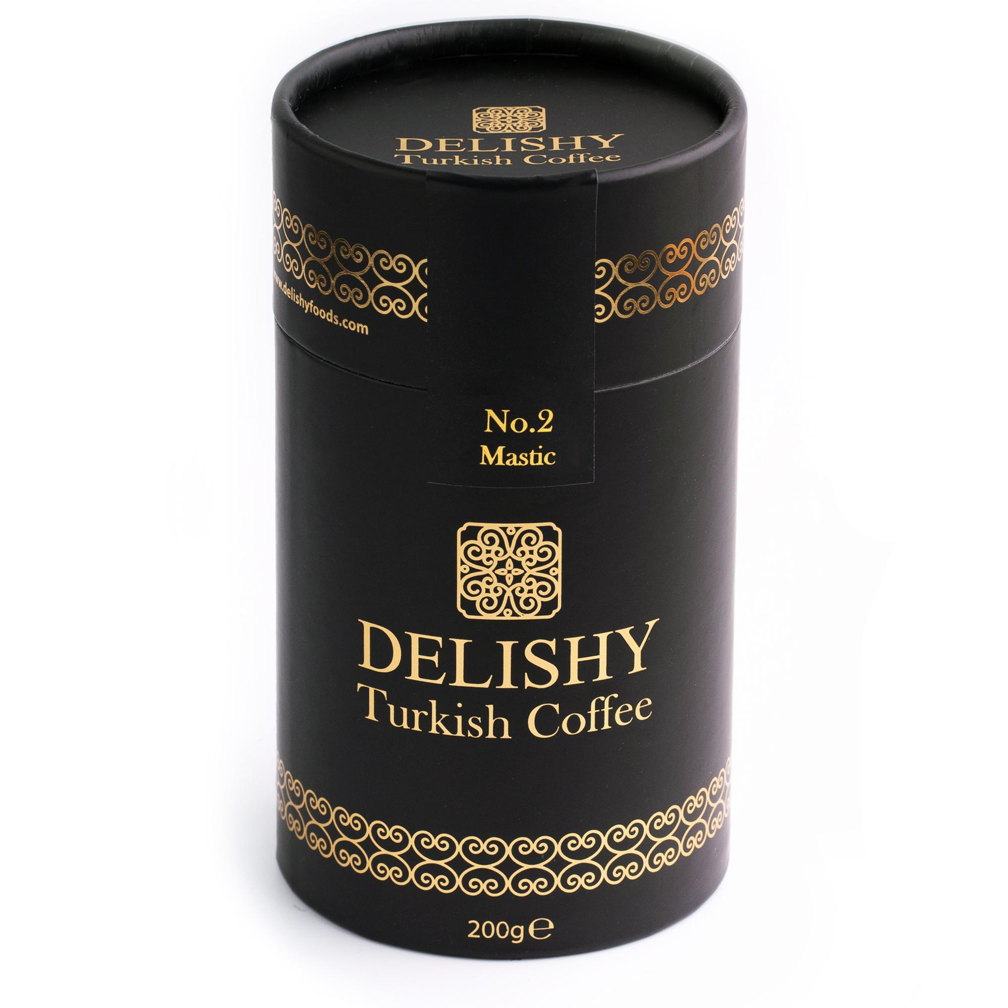 Delishy No.2 Mastic Turkish Coffee (200g)