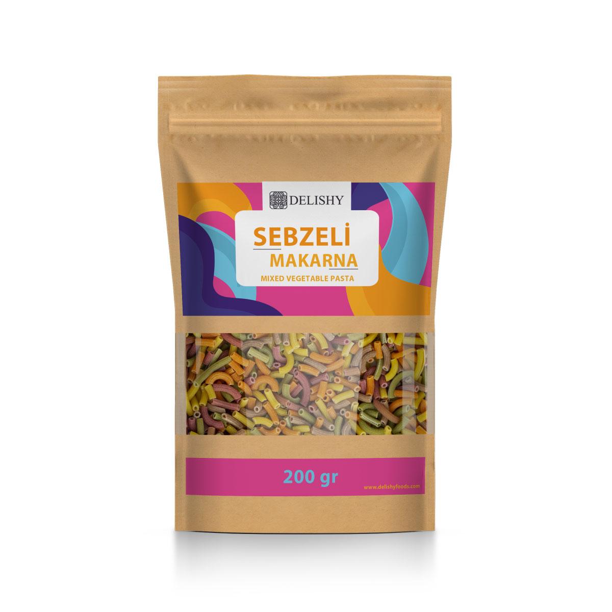 Delishy Mixed Vegetable Pasta (200g)