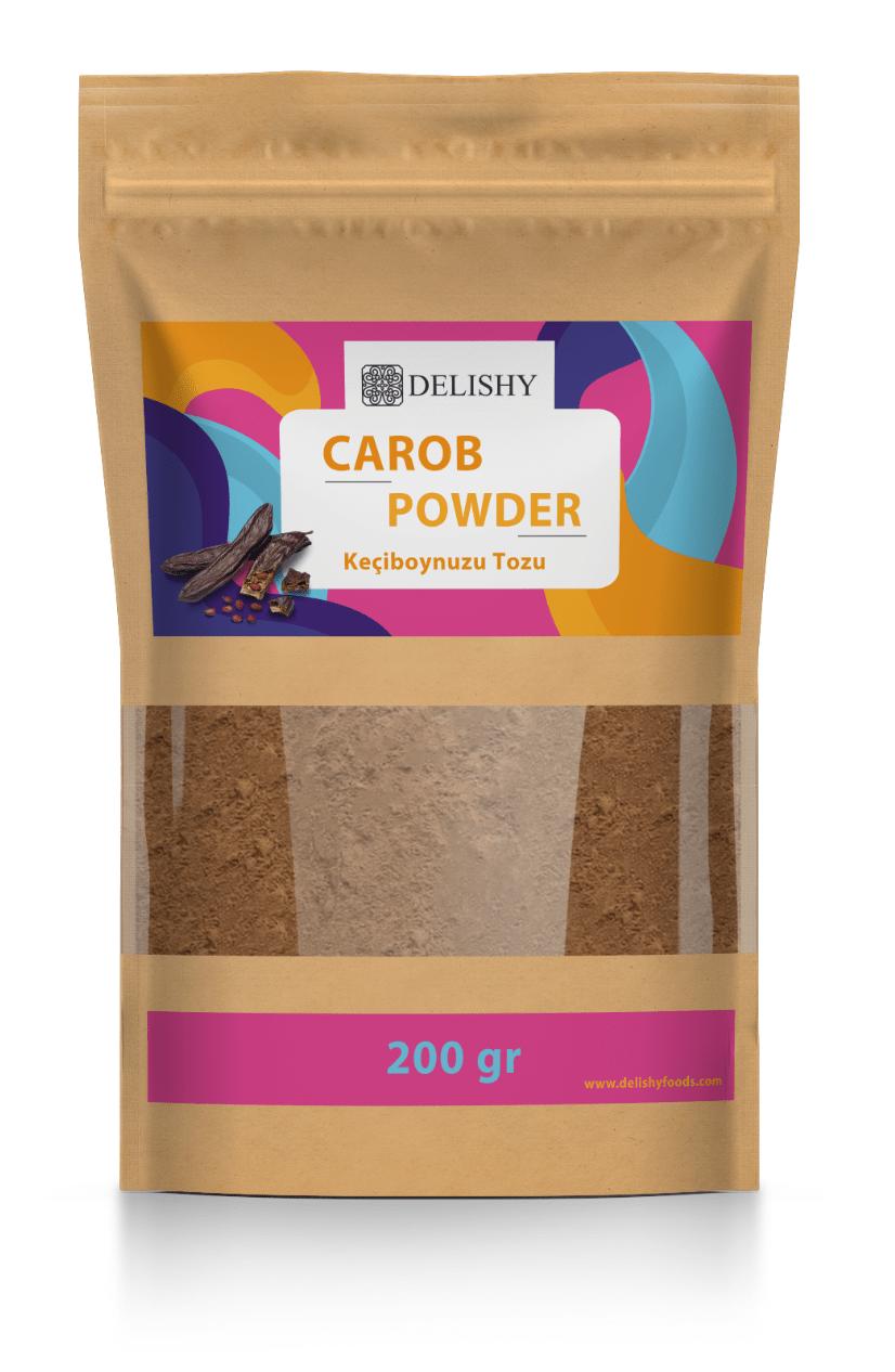 Delishy Carob Powder (200gr)