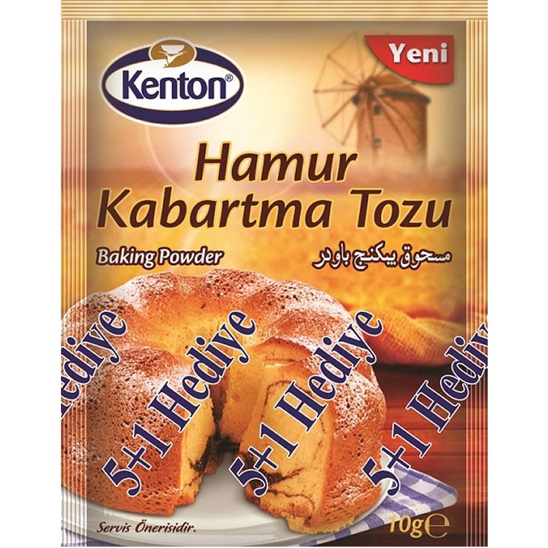 Kenton Baking Powder (5 Pieces) 5 gr