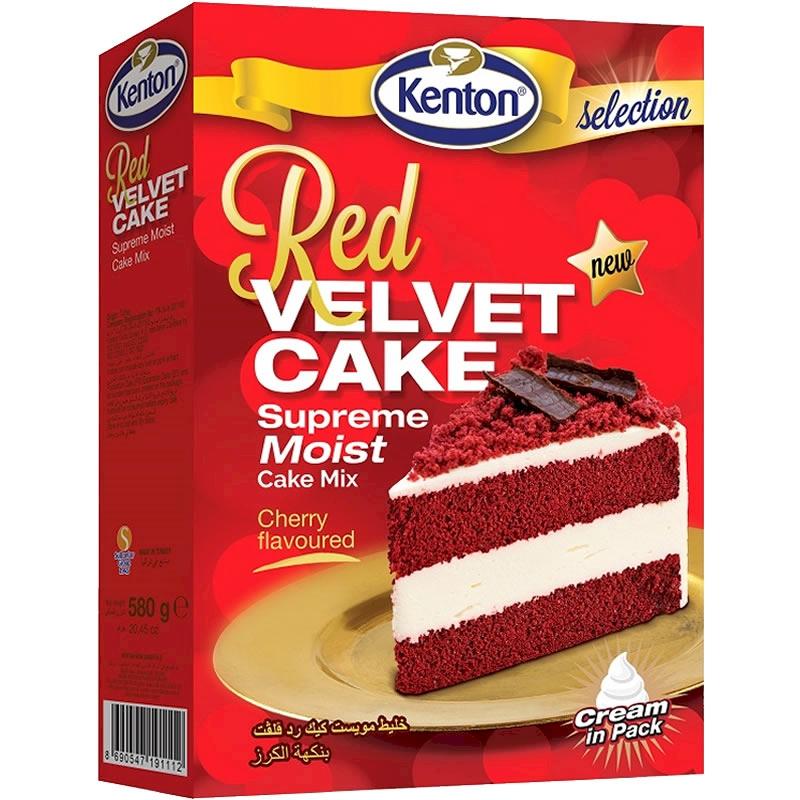 Kenton Red Velvet Cake Mix 580 gr