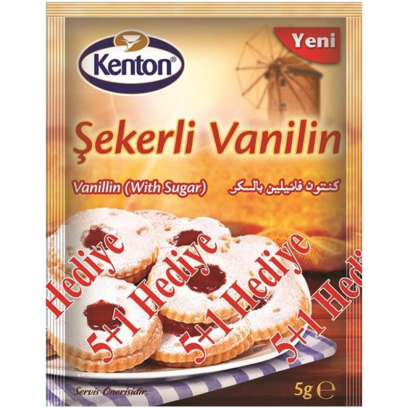 Kenton Vanilin with Sugar (15 Pieces) 5 gr