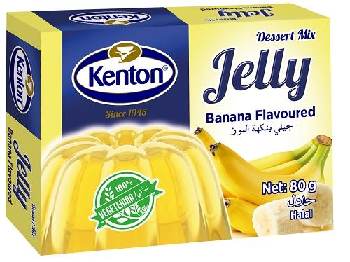 Kenton Vegetal Jelly Banana Powder 80 gr