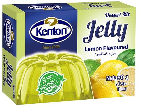 Kenton Vegetal Jelly Lemon Powder 80 gr