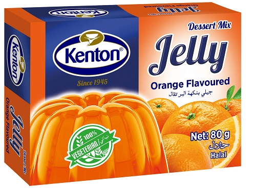 Kenton Vegetal Jelly Orange Powder 80 gr
