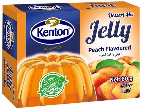 Kenton Vegetal Jelly Peach Powder 80 gr