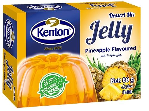 Kenton Vegetal Jelly Pineapple Powder 80 gr