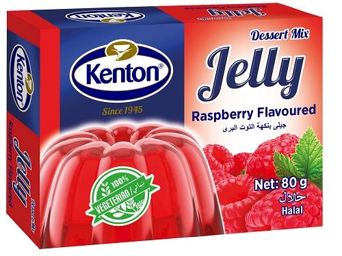 Kenton Vegetal Jelly Raspberry Powder 80 gr