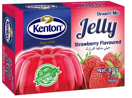 Kenton Vegetal Jelly Strawberry Powder 80 gr