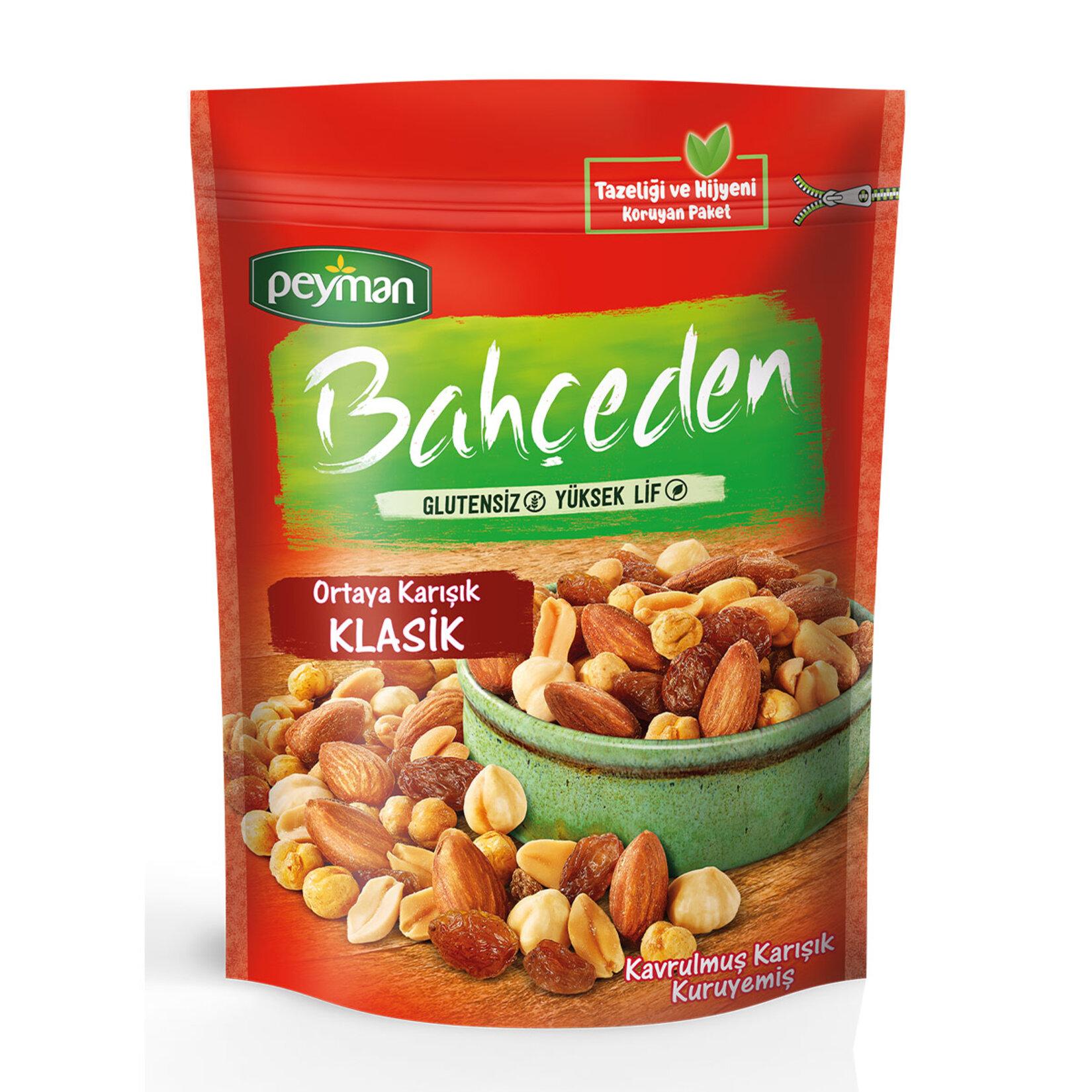 Peyman Bahceden Roasted Raw Mix Gluten Free 120 gr