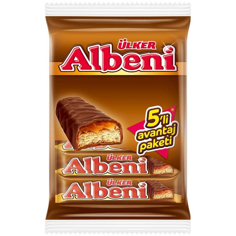 Ulker Albeni 5 Pack Chocolate 200 gr