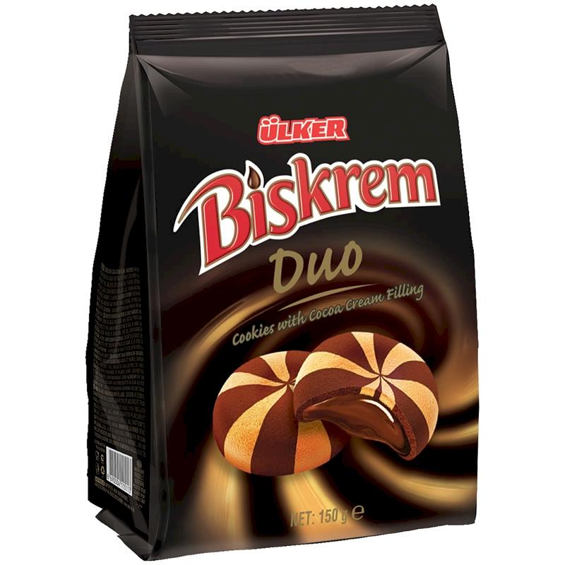 Ulker Biskrem Duo Biscuits Bag 150 gr