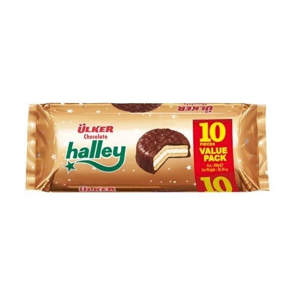 Ulker Halley Chocolate Ring Biscuit 300 gr